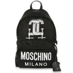 Moschino Jeremy Scott Construction Backpack